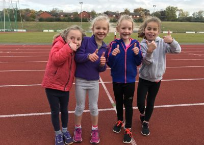 Girls Training Group