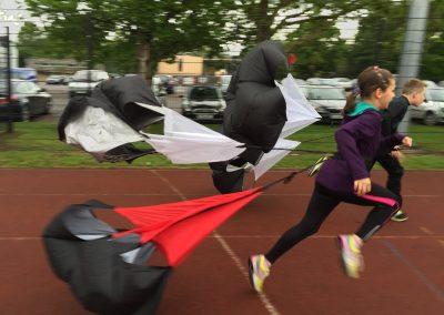 Resistance Training - Parachutes