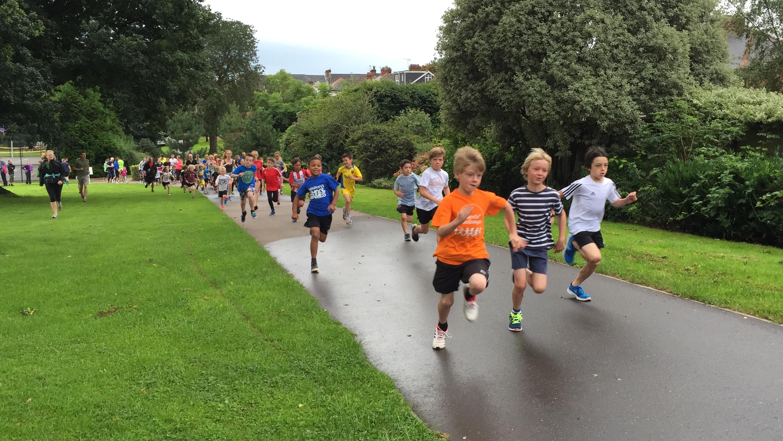 Exeter Junior Parkrun - Heavitree Park