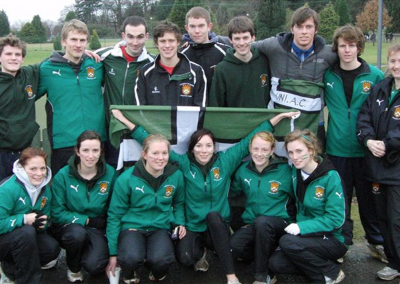 Exeter Uni Bucs cross country team